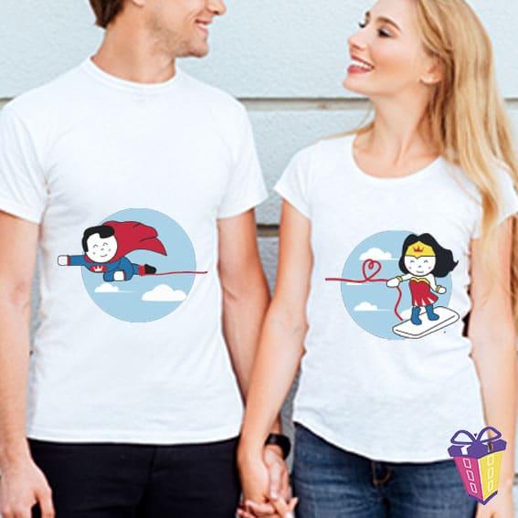 camisetas pareja